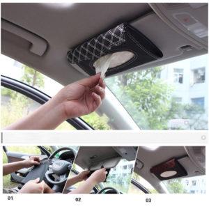 Hộp đựng khăn giấy trên ôtô