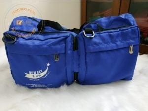 miêu tả mặt trước mẫu túi xách du lịch xếp gọn 01