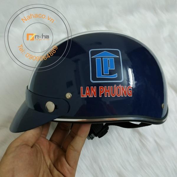 mặt bên của mẫu nón bảo hiểm 037