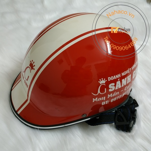 mẫu nón bảo hiểm 030