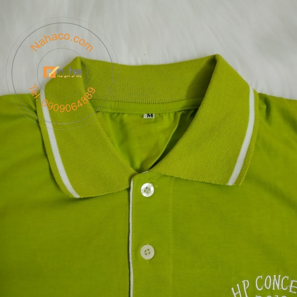 cổ áo của mẫu áo thun 61
