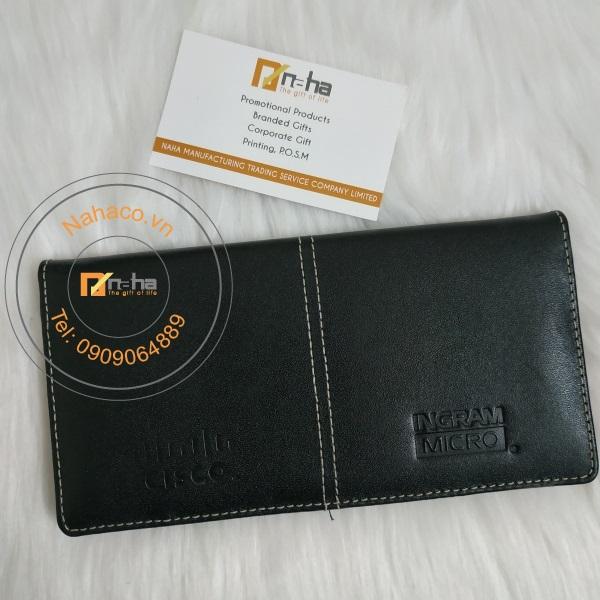 mặt trước mẫu ví da đựng namecard 01