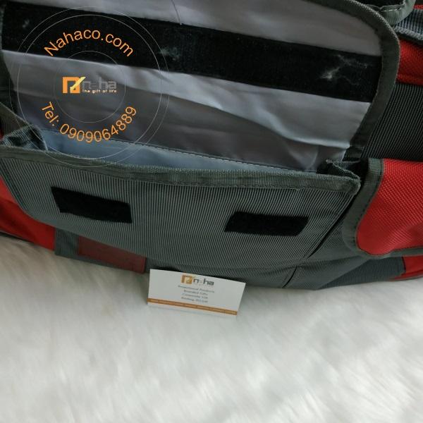 túi trống ở mặt sau của mẫu túi du lịch 05